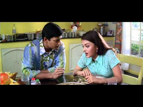 Jeans   Tamil Movie   Scenes   Clips   Comedy   Songs   Prasanth-Aishwarya lunch table scene