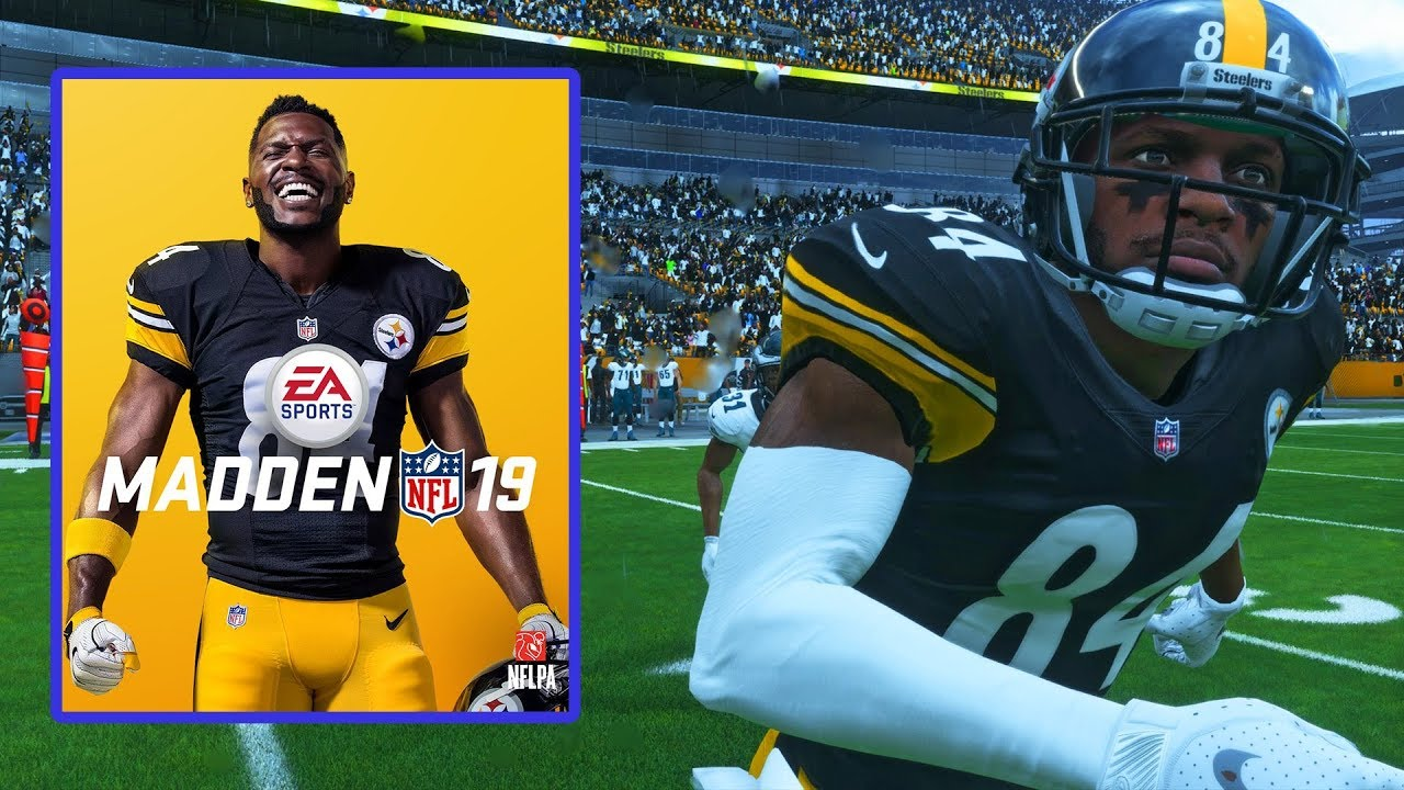 Antonio Brown Is The Madden 19 Cover Athlete! Check Out The Reveal..