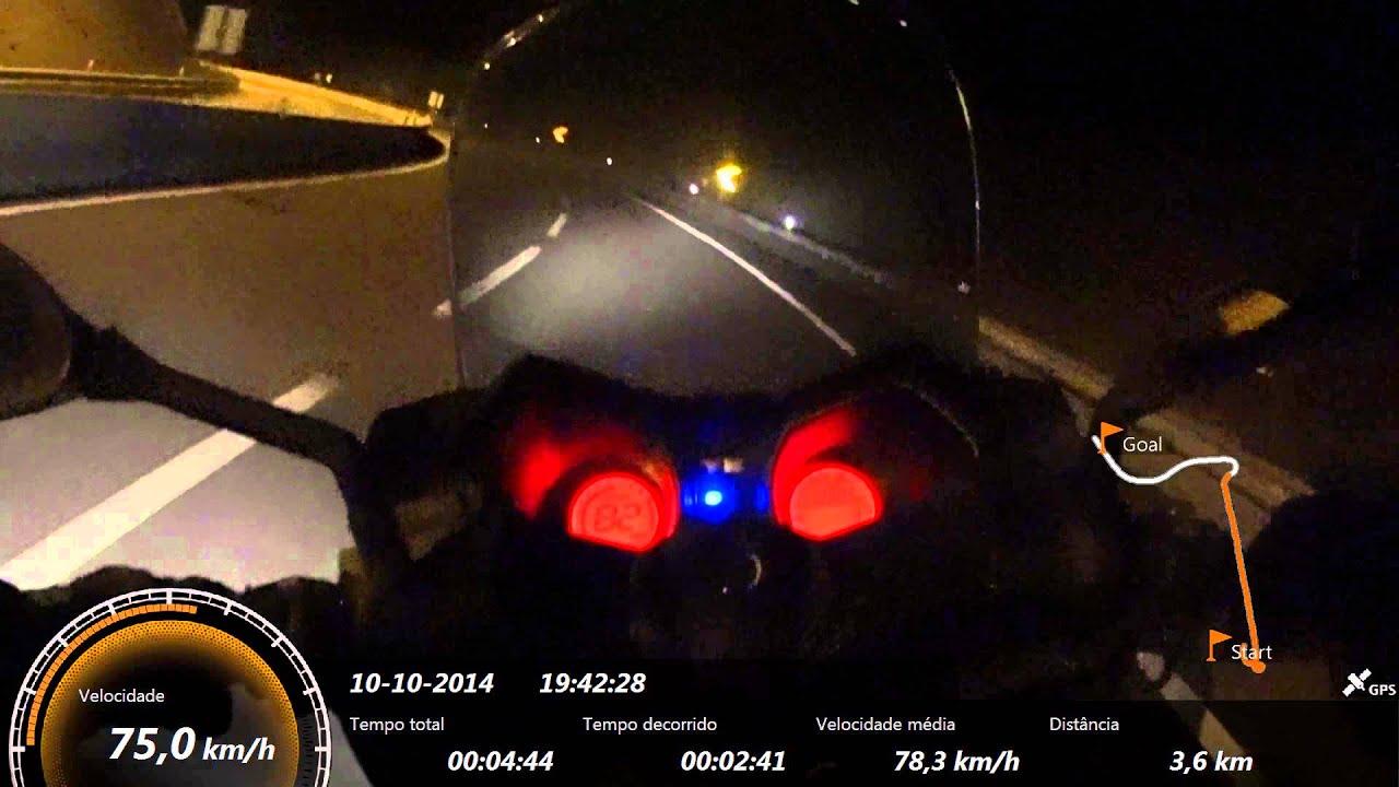Yamaha X-Max 125 2014 - Top Speed With GPS