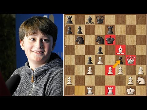 A German Bobby Fischer? | 13-Year Old IM Vincent Keymer Wins Grenke Chess Open 2018.