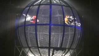 Shanghai Acrobatic Motorcycle Stunt Cage