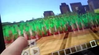 Мини-обзор игры Майнкрафт на планшете (Minecraft)