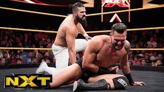 """Cezar Bononi vs. Andrade """"Cien"""" Almas: WWE NXT, May 31, 2017"""