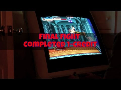 Final Fight (Arcade) ファイナルファイト - Completed 1-Credit (Haggar)