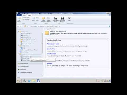 SCCM 2012, First Look for Administrators