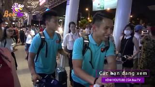 Cổ Động Viên chào đón Đội Tuyển Việt Nam chiến thắng trở về I BEE TV