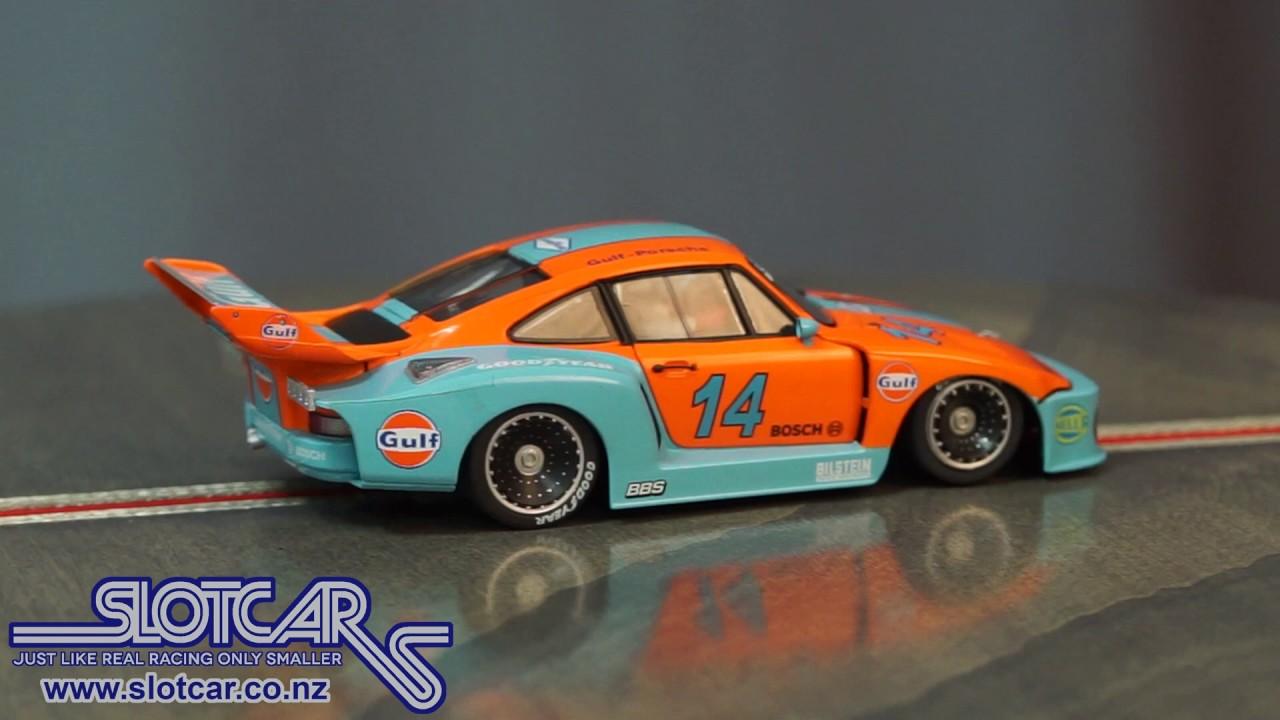Sideways Slot Car Porsche 935 Gulf 14 Group 5 Slotcar Hc04 Usa