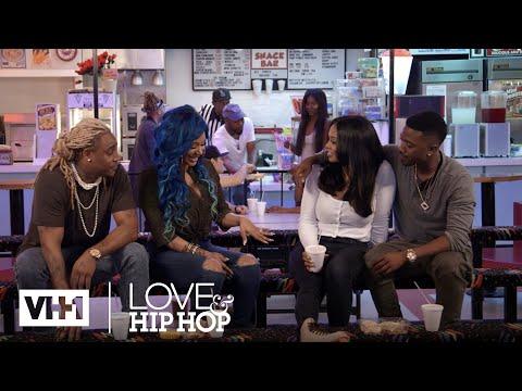 A1 & Lyrica Talk to Ray J & Princess About Eloping 'Sneak Peek' | Love & Hip Hop: Hollywood