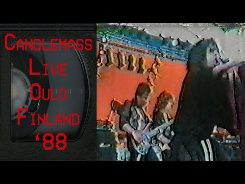 CANDLEMASS Live in Oulo Finland July 15 1988 FULL CONCERT