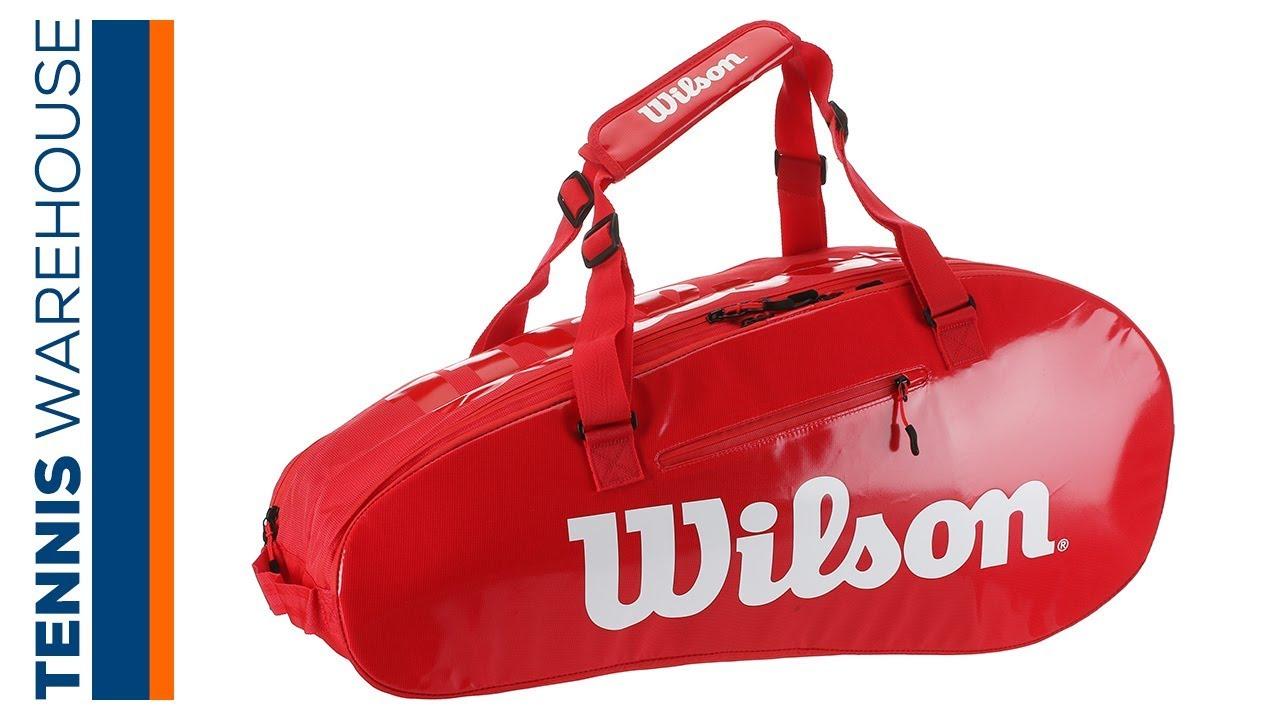 2a952a56010 Wilson Super Tour 2 Small 3 Pack Tennis Bag - YouTube