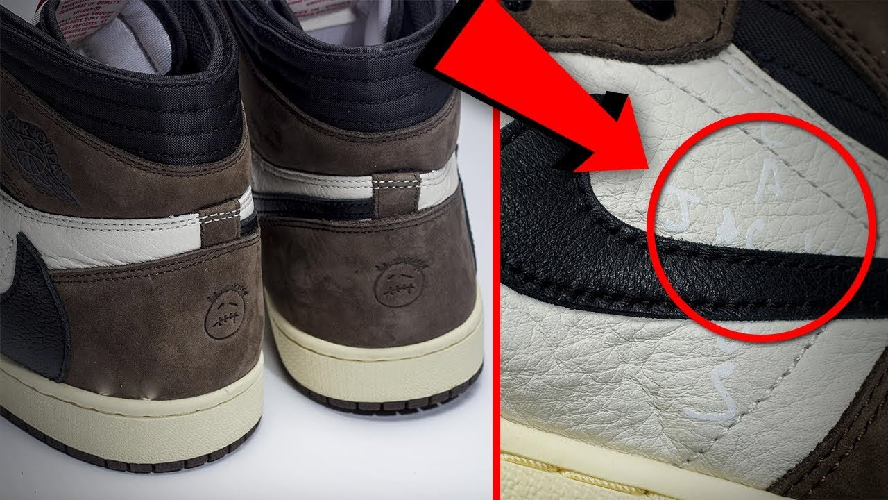 quality design 4db26 74979 *SNEAK PEAK* Travis Scott's Air Jordan 1