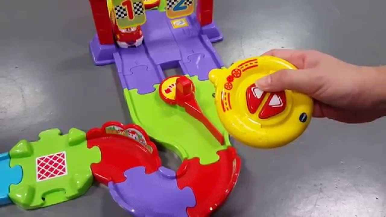 vtech toot toot drivers super rc raceway youtube. Black Bedroom Furniture Sets. Home Design Ideas