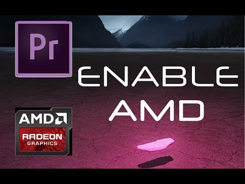 How To Enable AMD Radeon Graphics For Adobe Premiere Pro |Enable AMD In Premiere Pro