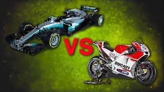 VA PIU' FORTE UN'AUTO O UNA MOTO? - AUTO VS MOTO GP -NASKA