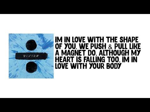 Ed Sheeran - Shape Of You (Instrumental Lyrics)