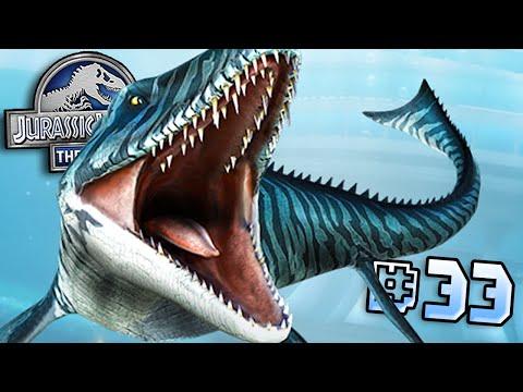 Mosasaurus's End!! || Jurassic World - Lagoon Series - Ep 33 HD