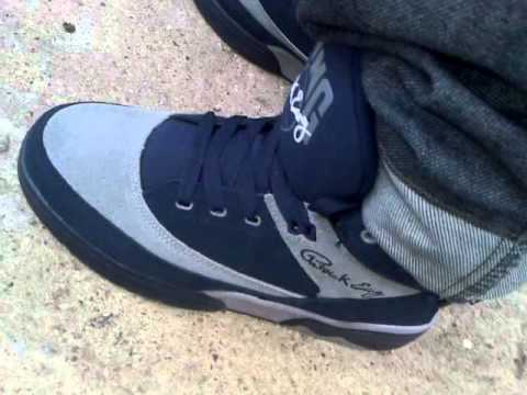 Ewing 33 hi georgetowns on feet!!! 19/3/2013  first upload of these on youtube yay lol