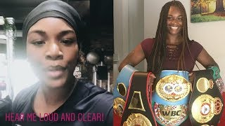 Claressa Shields message to Christina Hammer fans | Fight is on!