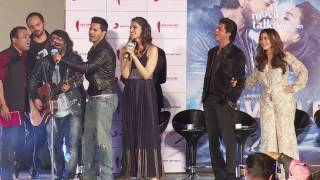 Gerua VIDEO Song Launch Event| Dilwale | Shahrukh Khan, Kajol, Pritam, Arijit Singh