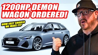 Randy Specs Out One of THE FIRST 2020 Audi RS6 Wagons In The USA! *LAMBORGHINI OWNERS BEWARE*