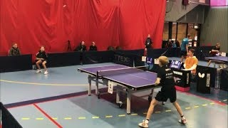 Amazing | This Table Tennis Rally Will Blow Your Mind