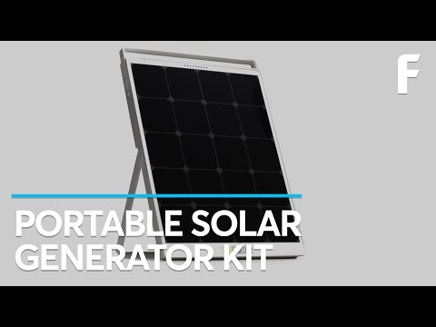 For On-The-Go Power, This Solar Generator Has It All