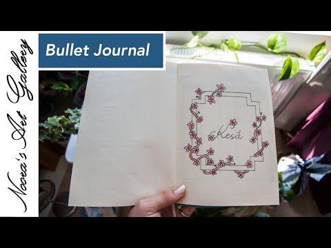 Bullet Journal - Kesäkuu - Noora's Art Gallery
