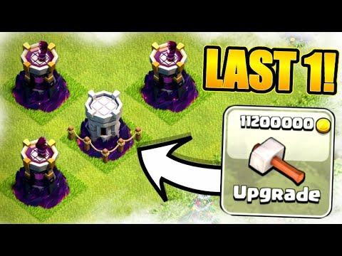 THE LAST EVER WIZARD TOWER UPGRADE!! - Clash Of Clans
