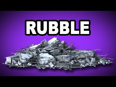 Learn English Words: RUBBLE - Meaning, Vocabulary with Pictures and Examples