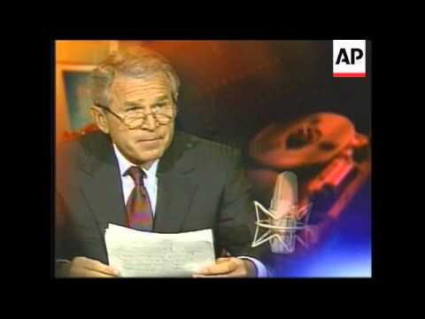 President Bush speaking on Latin American trade in weekly radio address