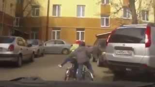 Смешное видео с людьми  Падения  Неудачи  Обломы Приколы