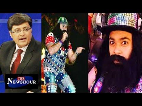 Kiku Sharda Arrested For Mimicking Baba Ram Rahim : The hour Debate 13th Jan 2016