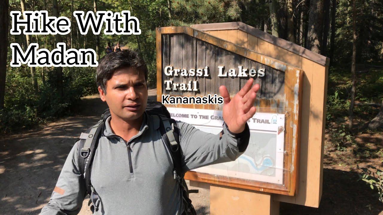 Grassi Lakes And Whitemans Pond Hike, Kananaskis, Alberta, Canada.