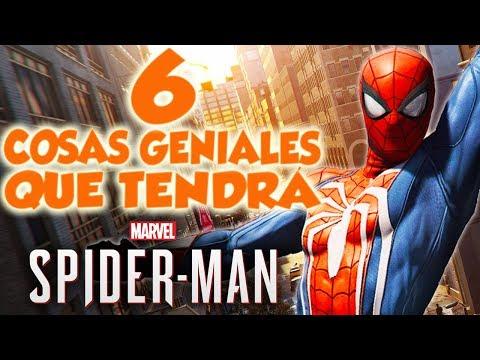 Marvels Spider-Man (PS4) - 6 cosas GENIALES que tendrá el juego I Skins, villanos, ¡Y M�S!