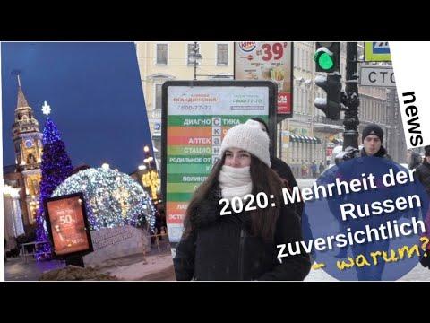 2020: Mehrheit der Russen zuversichtlich