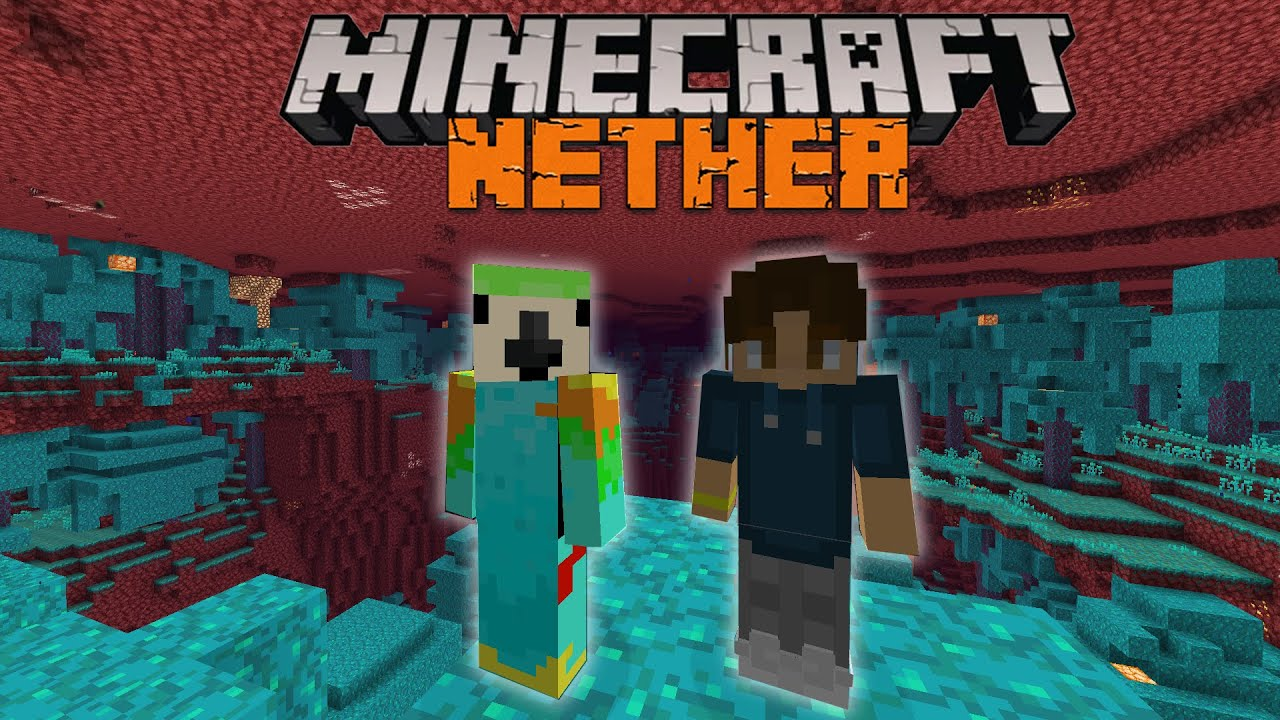 Minecraft, But We Can't Leave the NETHER...