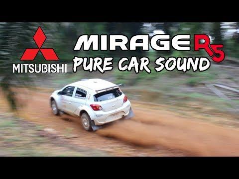 Mitsubishi Mirage R5 (MPart Sport) - Pure Car Sound (Malaysian Rally)
