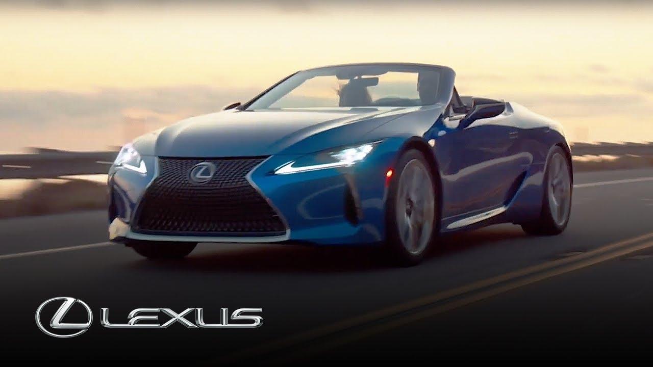 Lexus LC 500 Convertible   Lexus - YouTube