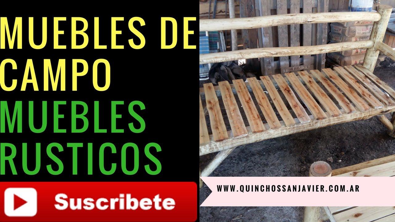 IDEAS MUEBLES DE CAMPO SILLONES Y MESAS RUSTICAS ESTILO CAMPO SILLÓN ...
