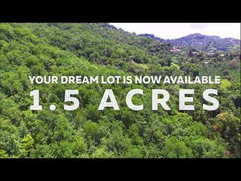 Land for Sale at Marigot Bay Saint Lucia 1.5 Acres