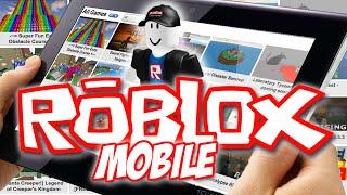 ROBLOX ON MOBILE = BORA JOGAR (MOBILE FREE PT/BR)