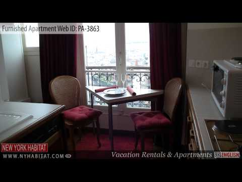 Paris, France - Video tour of a Studio Apartment on Rue Lamarck in Montmartre