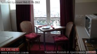 Paris, France - Video tour of a Studio Apartment on Rue Lamarck in Montmartre