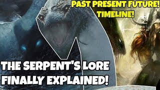 God of war Theory/Analysis- World Serpent's Timeline! Secret Lore Explained! Past present Future!