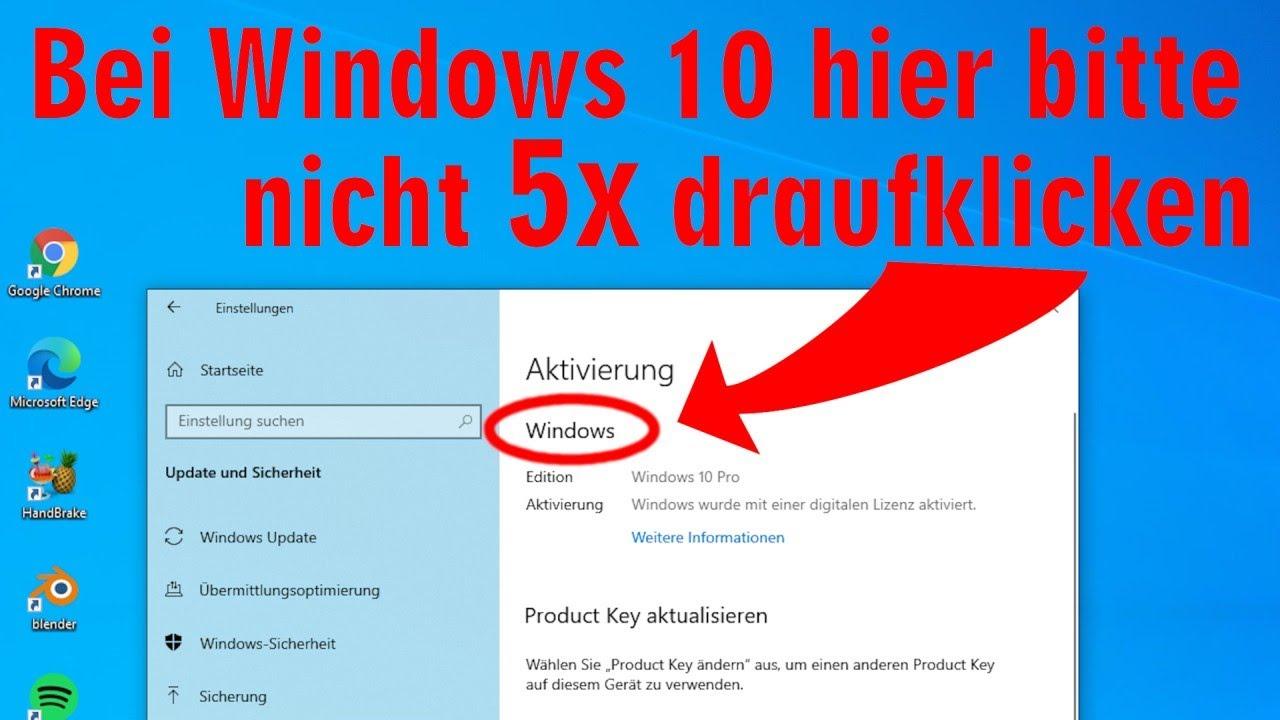 """Download Windows 10 👉 bitte nicht 5x auf """"Windows"""" klicken 🤨"""