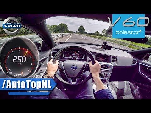 Volvo V60 POLESTAR 367HP AUTOBAHN POV 250km/h TOP SPEED & ACCELERATION by AutoTopNL