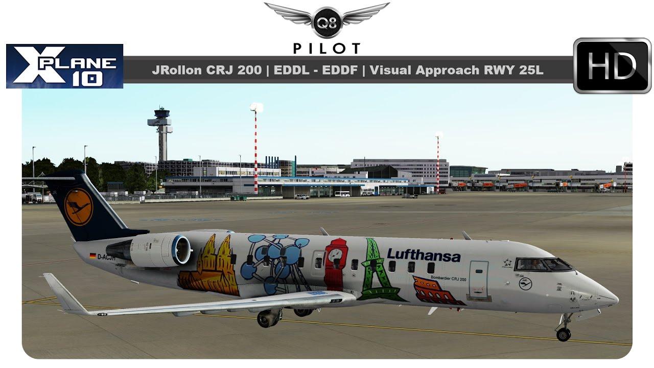 [X-Plane] JRollon CRJ200 w/ Blue Sky Star Sound Pack