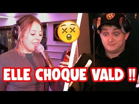 VALD CHOQUÉ PAR UNE COVER EN DIRECT !