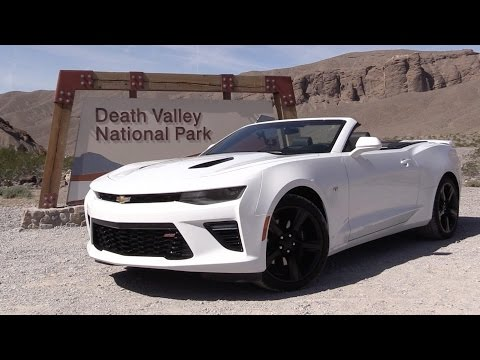 Road Trip To Death Valley in the 2016 Chevrolet Camaro SS Convertible and 2.0L Turbo Coupe