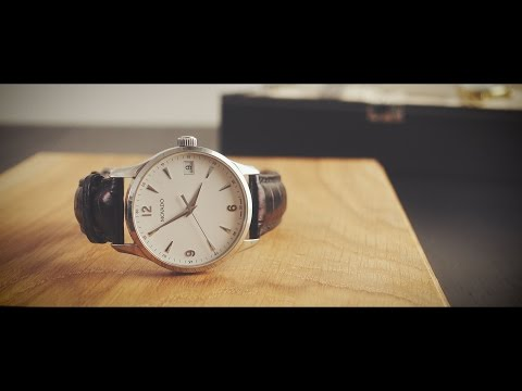 Unboxed Review of Movado Circa Black Leather Men's Watch